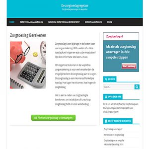 Voorbeeld webdesign