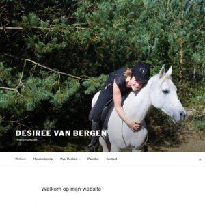 DesireevanBergenHorsemanship.nl